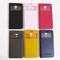 Bao da Samsung-Galaxy S4 S-View Cover đa dạng màu sắc