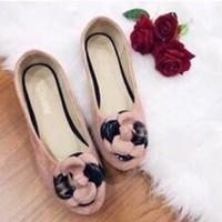 giày búp bê hoa 1347