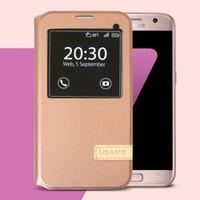 Bao da Samsung-Galaxy S7 hiệu Usams Muge Series