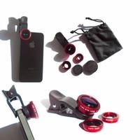 Bộ 3 ống lens chụp hình siêu đẹp cho điện thoại