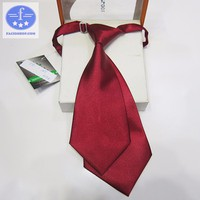[Chuyên sỉ - lẻ] Cà vạt thắt sẵn nam Facioshop CD25 - bản 7.5cm