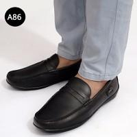 Giày lười da thời trang hàn quốc - MS: A86