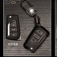Bao da bọc chìa khóa ô tô Toyota mẫu A
