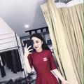 Đầm Xòe Thu Đông Hot
