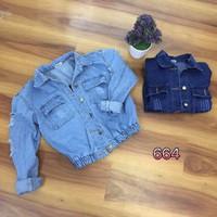 Áo khoác jean thời trang
