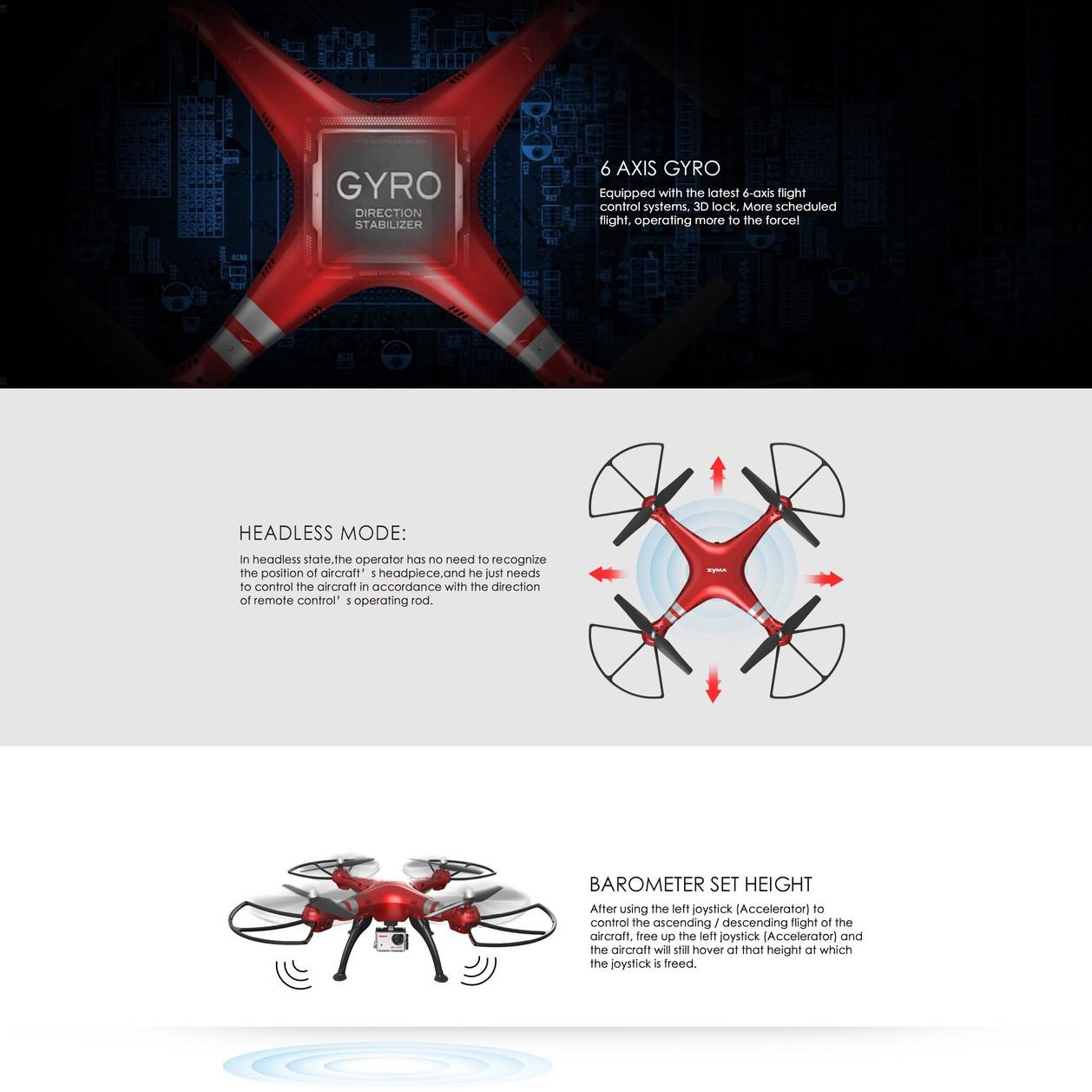 Flycam Syma X8HG 2