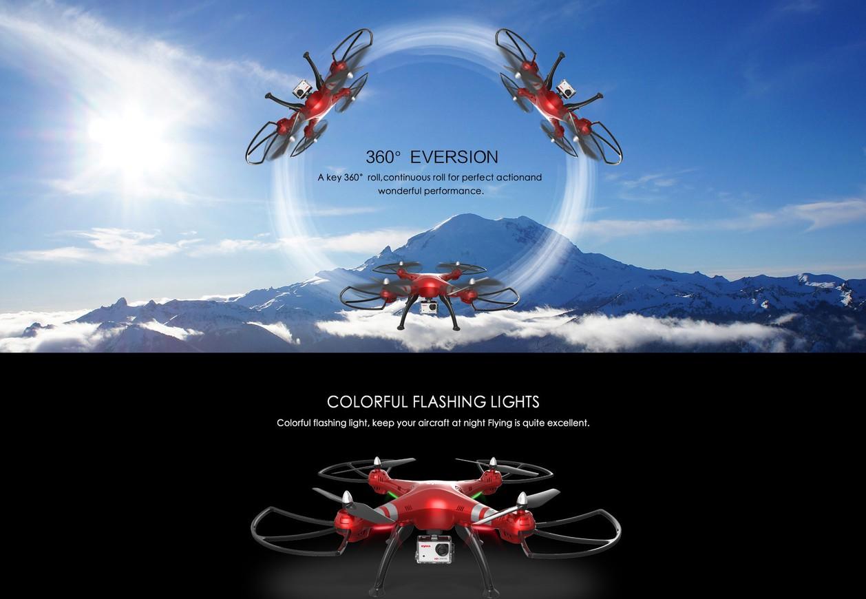 Flycam Syma X8HG 5