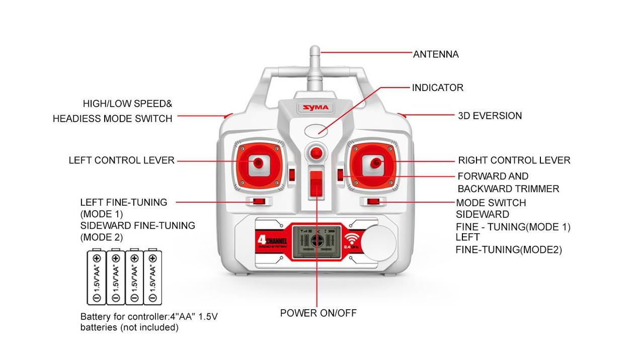 Flycam Syma X8HG 6