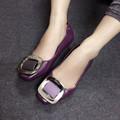 Giày búp bê nhựa khóa vuông BB33