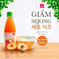 Giấm Sejong - đồ uống có lợi cho sức khỏe từ trái cây tự nhiên