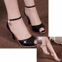 Giày cao gót nhập khẩu GD657
