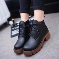 Giày oxford gót vuông kiểu Timberland BT233D - Doni86
