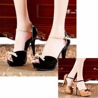 Giày cao gót nhập khẩu GD864