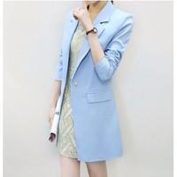 Áo khoác nữ Blazer form dài VK145111VN