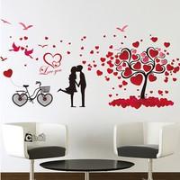 Decal Dán Tường Tình Yêu Lãng Mạn
