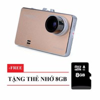 Camera hành trình xe hơi ELITEK EJV2520FHD-Thẻ nhớ 8GB