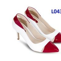 GL043 giày cao gót bít mũi xinh xắn