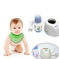 Máy hâm nóng sữa Yummy  tặng kèm bình sữa 125ml cho bé