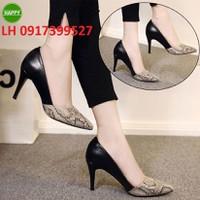 Giày cao gót nữ cao cấp mới hàng xuất khẩu L12H128