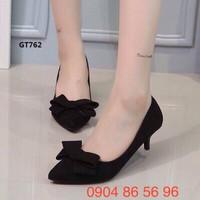Giày Cao Gót Nơ Siêu Xinh