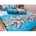 Bộ ga giường cotton hoa dây- TTSHOP