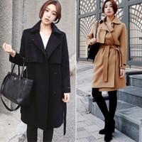Áo khoác dạ mangto Hàn Quốc