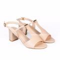 Giày Sandal nữ gót vuông cao 5cm Hùng Cường HC1302