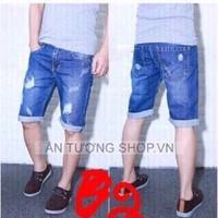 Quần jean short nam