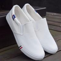 Giày Lười Trắng Nam - MSTB536