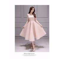 HÀNG NHẬP - ĐẦM XÒE HÔNG DỰ TIỆC XINH XẮN - CLR2034LD