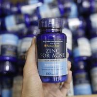 Kẽm trị mụn Zinc for acne