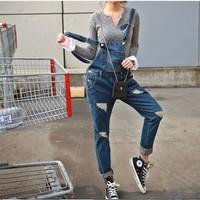 Quần yếm jean dài YD13