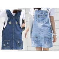 Váy yếm jean ngắn VYN03