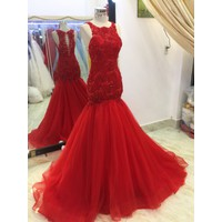 áo cuoi đuôi ca đỏ
