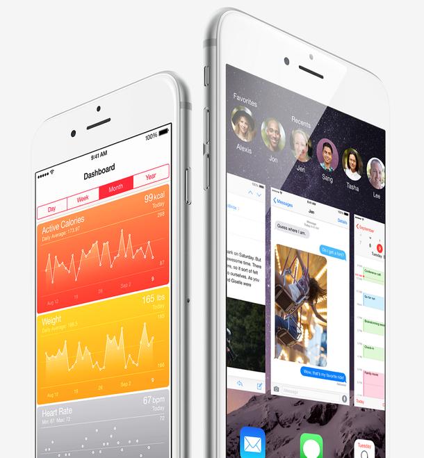 iphone 6 iOS 8