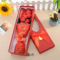 Hoa Sinh Nhật Đẹp - Hộp 9 Hoa Hồng Sáp Thơm