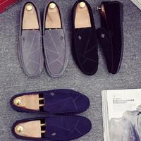 Giày mọi nam da lộn-GD92