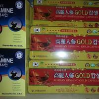 Đạm hồng sâm  Linh chi 120 viên  Hàng Gold
