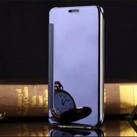 Bao da Clear View Samsung Galaxy A3 2016 Xanh dương