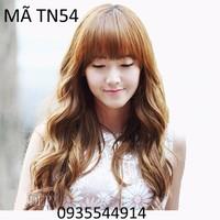 Tóc nữ mái ngang cực đẹp TN54