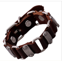 Vòng da,lắc tay handmade-T13