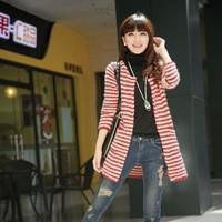 Áo Cardigan dệt kim nữ dáng dài - AV025