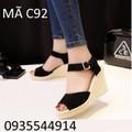 Giày đế xuồng nữ tính cao cấp C92