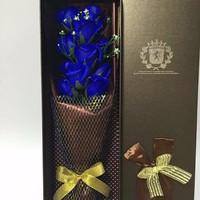 hoa hồng sáp thơm - hộp 11 bông