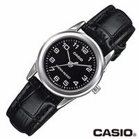 Đồng hồ nữ Casio chính hãng, dây da V001L