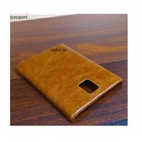 Ốp Lưng IONE Blackberry Passport da bò Màu Nâu Hạt