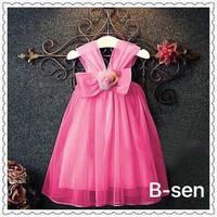 Đầm công chúa nơ to phong cách Hàn Quốc