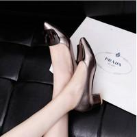giày gót vuông-DT108