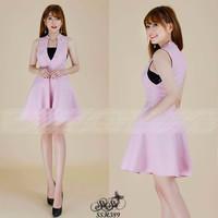 Shop SuSu - Đầm xòe khoét ngực tặng áo ống