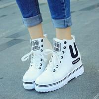 Giày nữ nâng đế dễ thương thời trang Hàn Quốc - SG0356